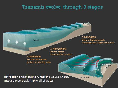 Tsunami Stages